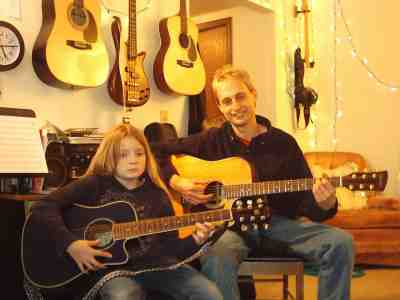 Teaching Guitar Lessons Cheyenne Music Notes